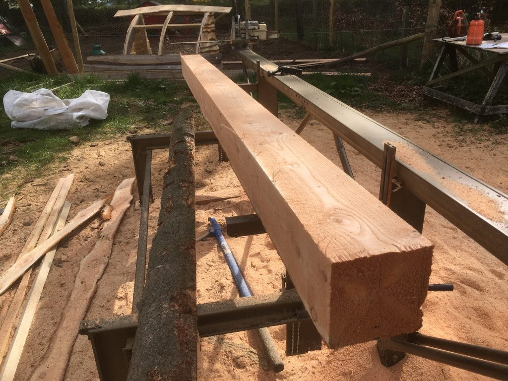 Milled timber in Angus and Aberdeenshire